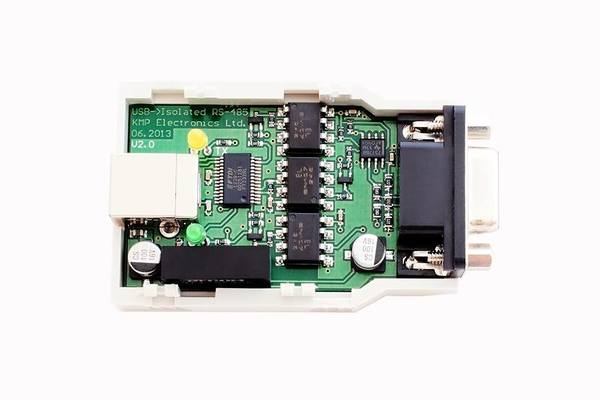 USB RS485 Optical Isolated Converter V1.0 Top Accent