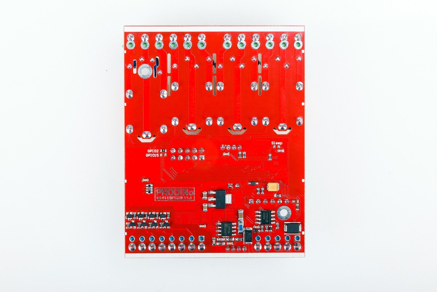 ProDino WiFi V1.0 box board back