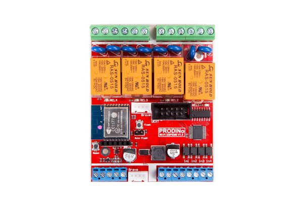 PRODINo WIFI-ESP WROOM-02 board Top