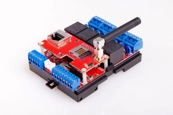 ProDino MKR GSM Ethernet V1 board 3D