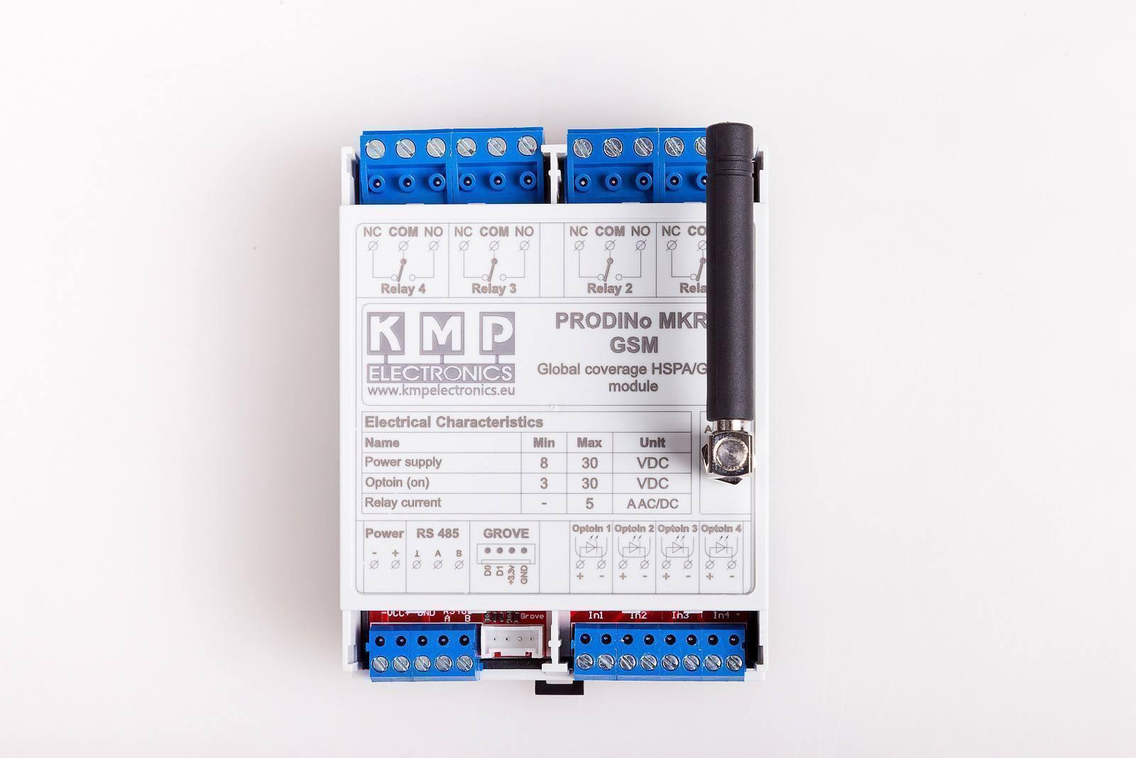 Prodino Mkr Gsm Your Connection Kmp Electronics Ltd Shop Relay No Nc V1 Top