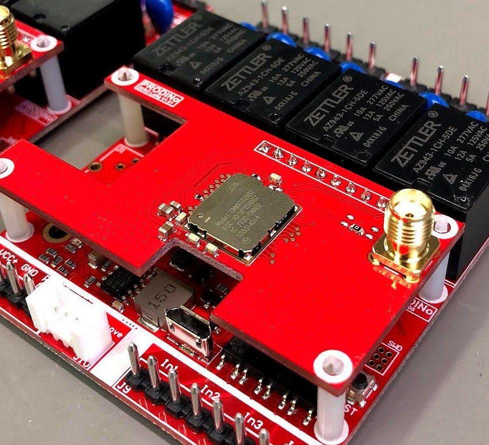 ProDino MKR Lora Wan Board Prototype Accent