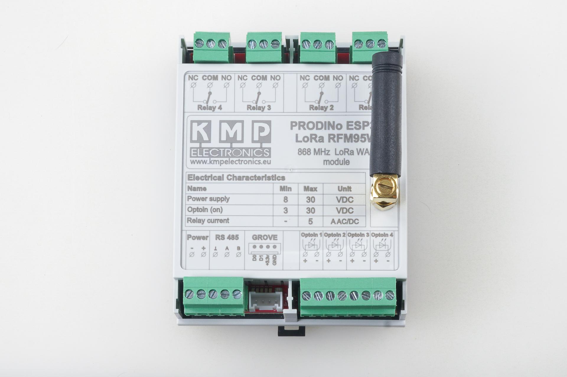 ProDino ESP32 LoRa RFM