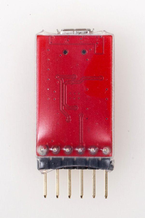 FTDI Programmer V1 back