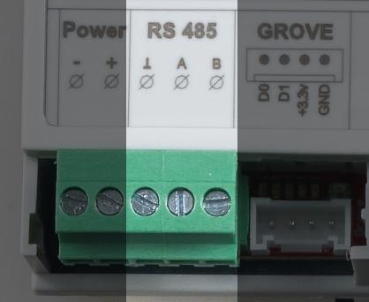 ProDinoESP32 RS485 description