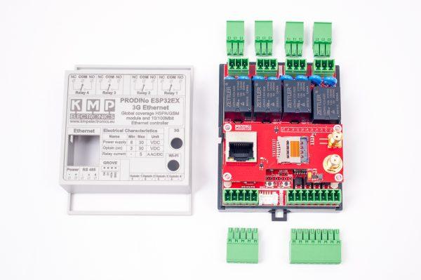 ProDinoESP32Ex Ethernet GSM
